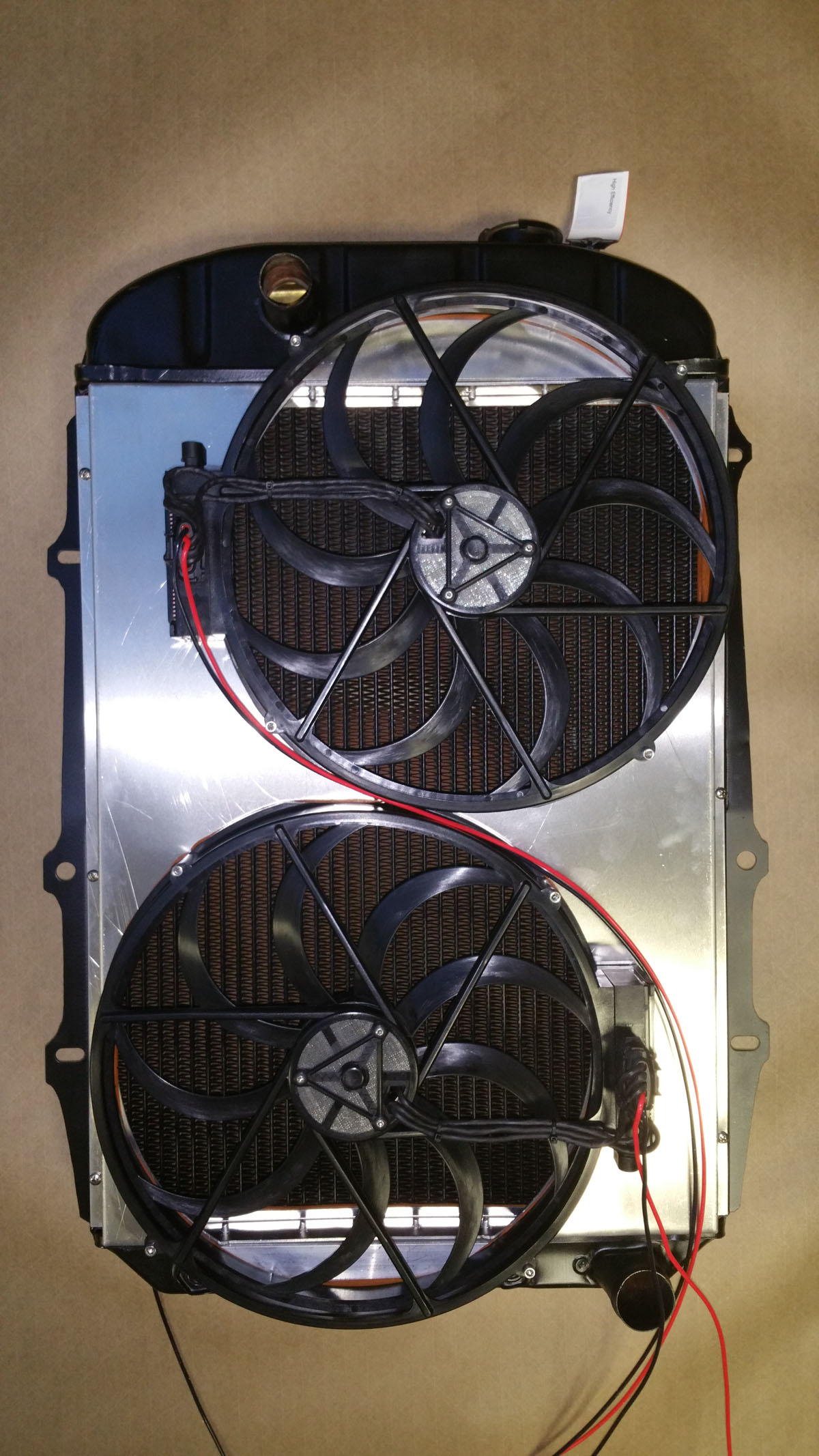 New rad and twin fans (1)